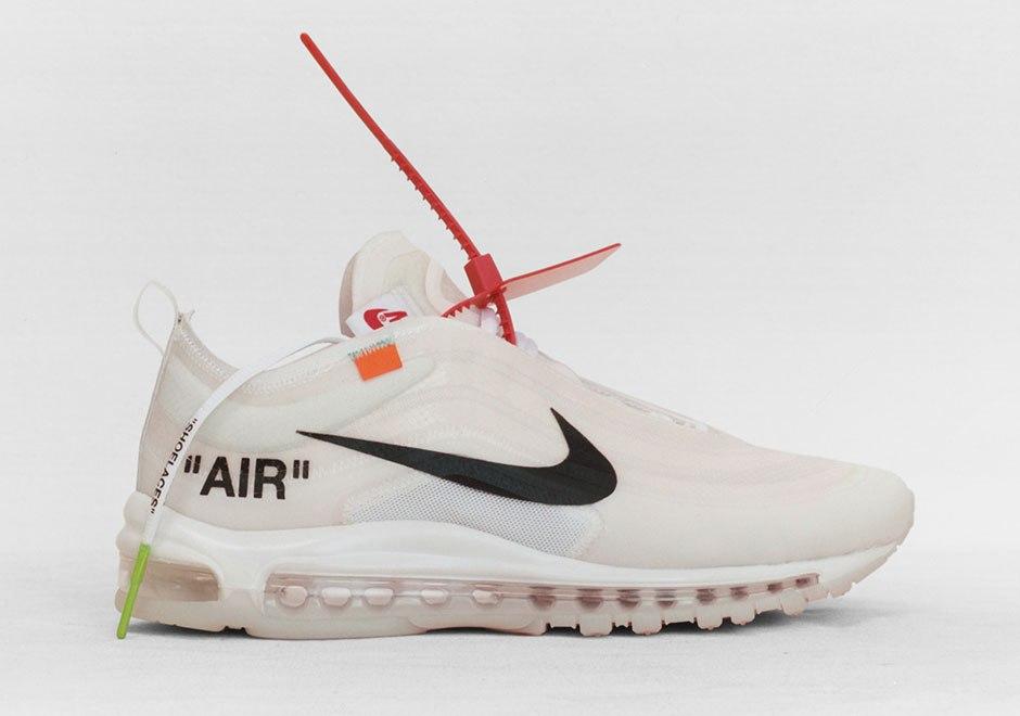 a2fa4a2c3c9 Nike Air Max 97 được phủ toàn bộ bởi màu trắng